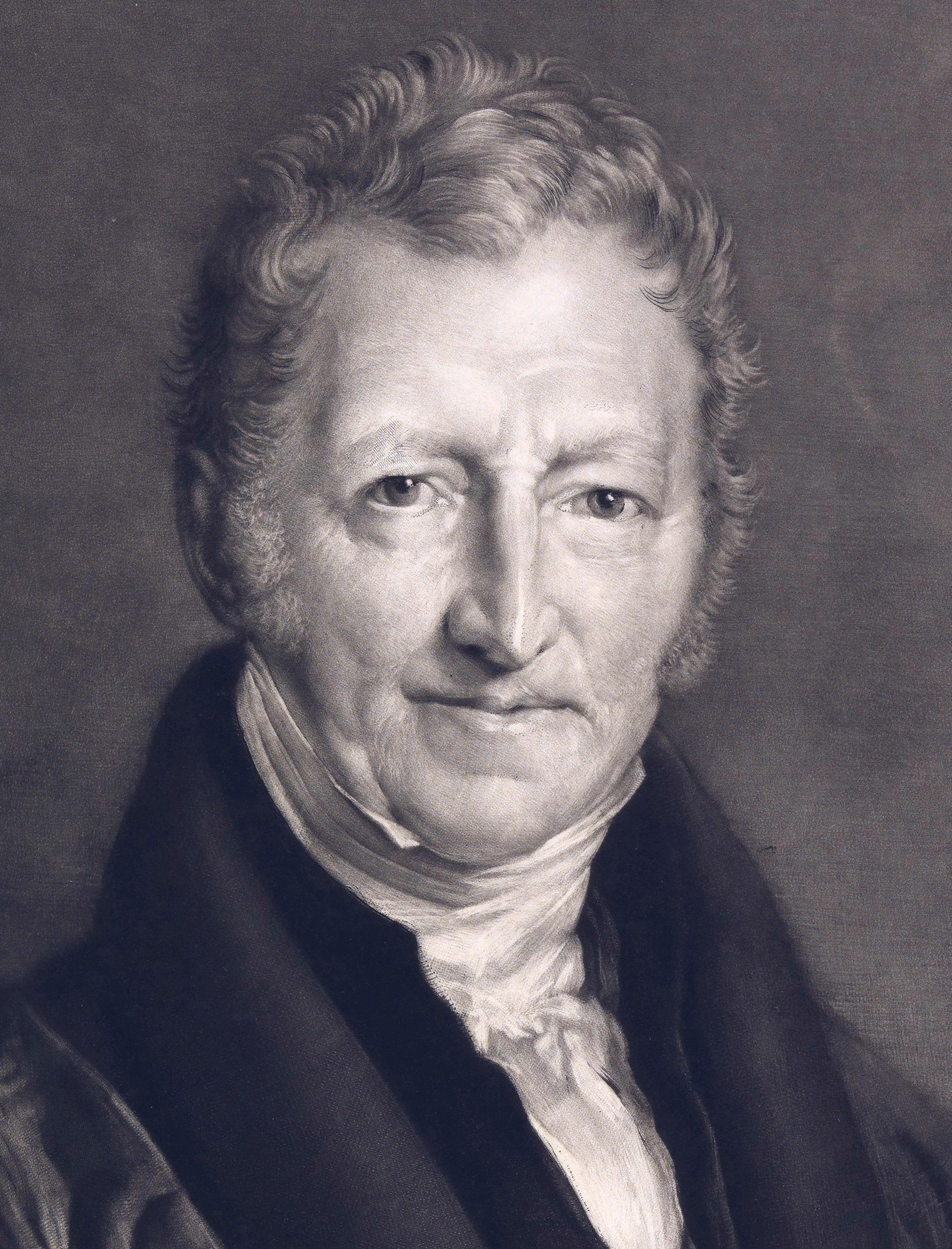 Thomas Malthus. Like Alan Greenspan, but with less interest rate reductions and more smallpox.