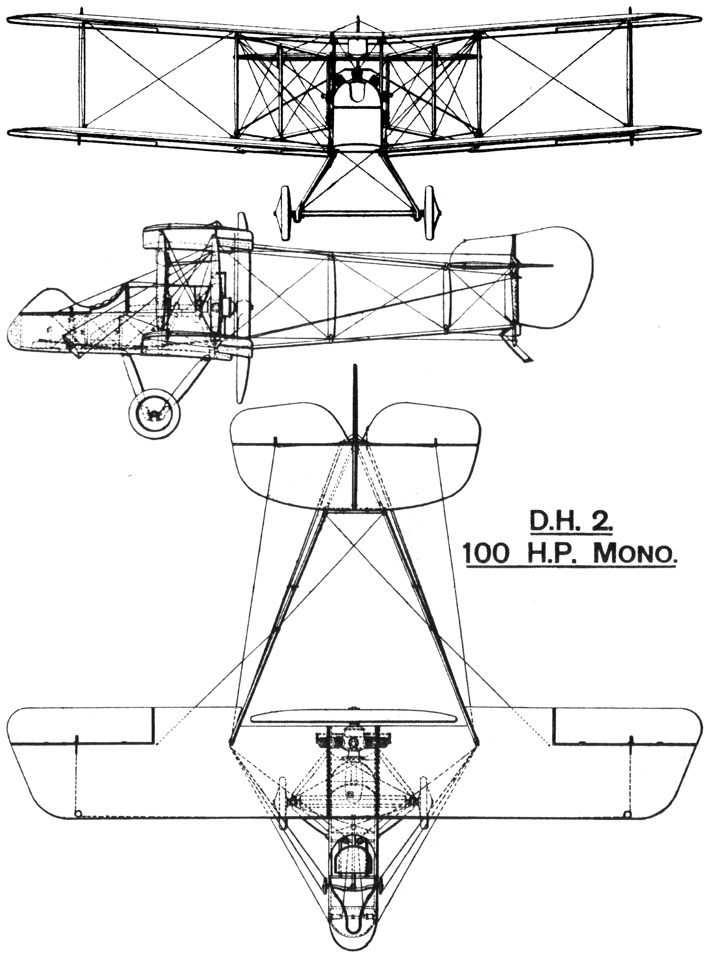 File:Airco D.H.2 British First World War single seat