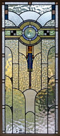 File:Art Deco Stained Glass in a Melbourne House.jpg ...