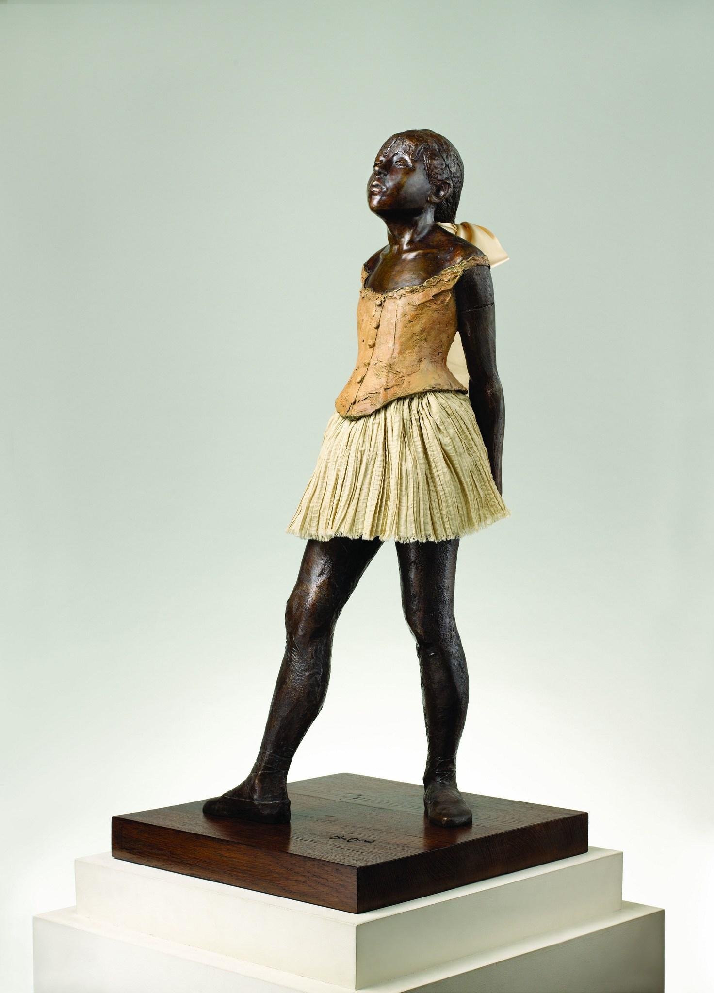 La Petite Danseuse De Degas : petite, danseuse, degas, File:Edgar, Degas, Petite, Danseuse, Quatorze, 1997.jpg, Wikimedia, Commons