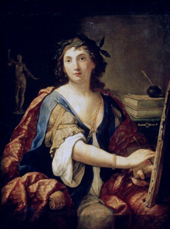 Elisabetta Sirani Autoritratto -  Museo Pushkin Mosca
