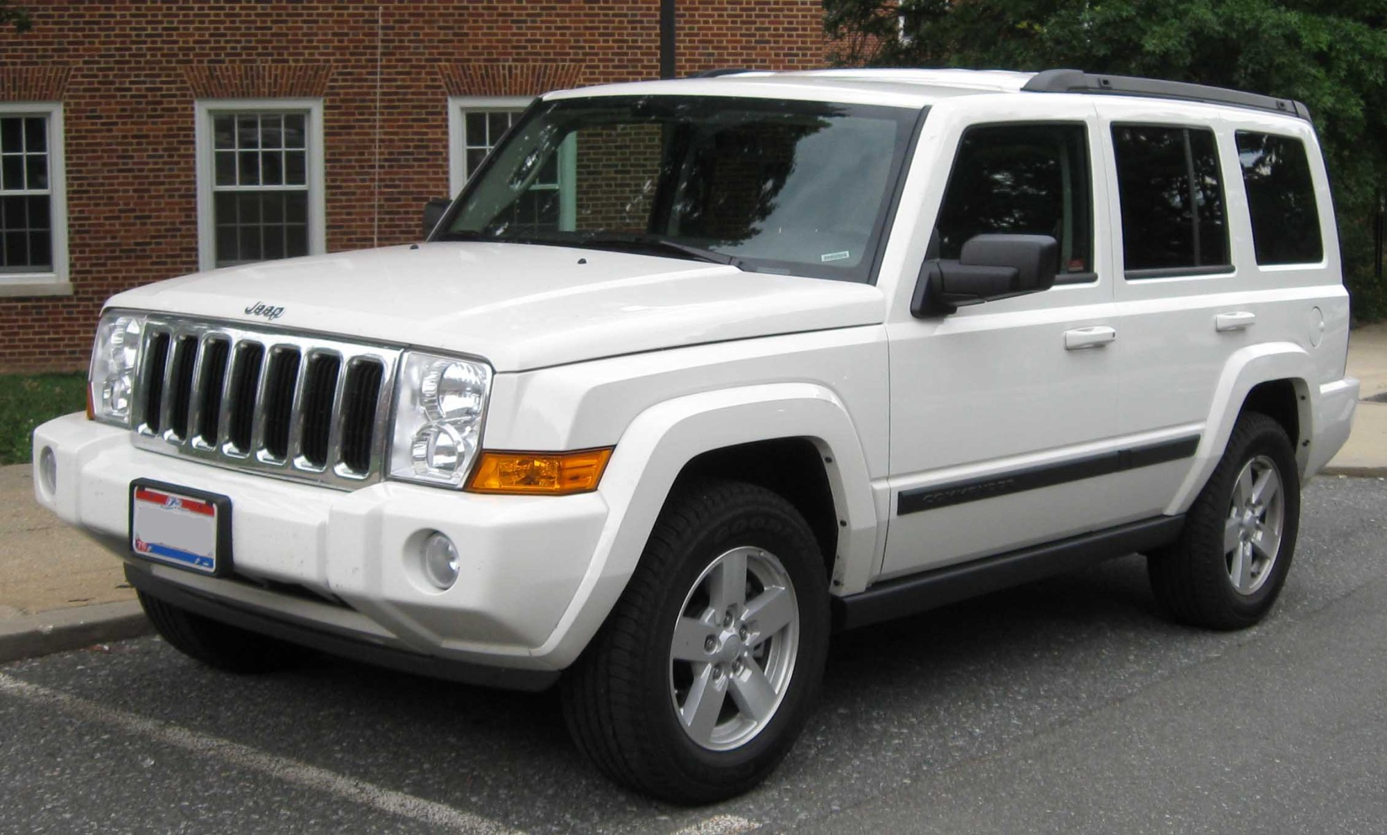 hight resolution of jeep commander xk