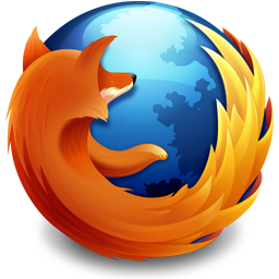 The logo of Mozilla Firefox 3.5 and 3.6 from t...