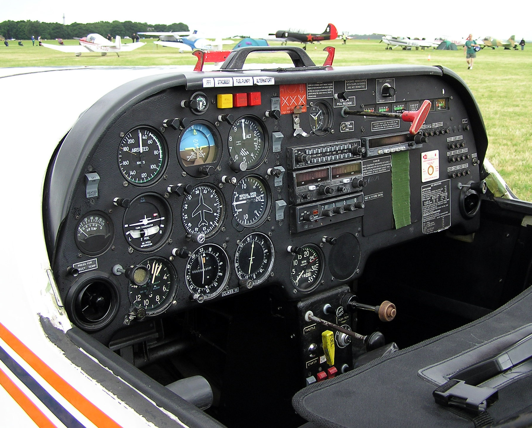 hight resolution of flight instruments
