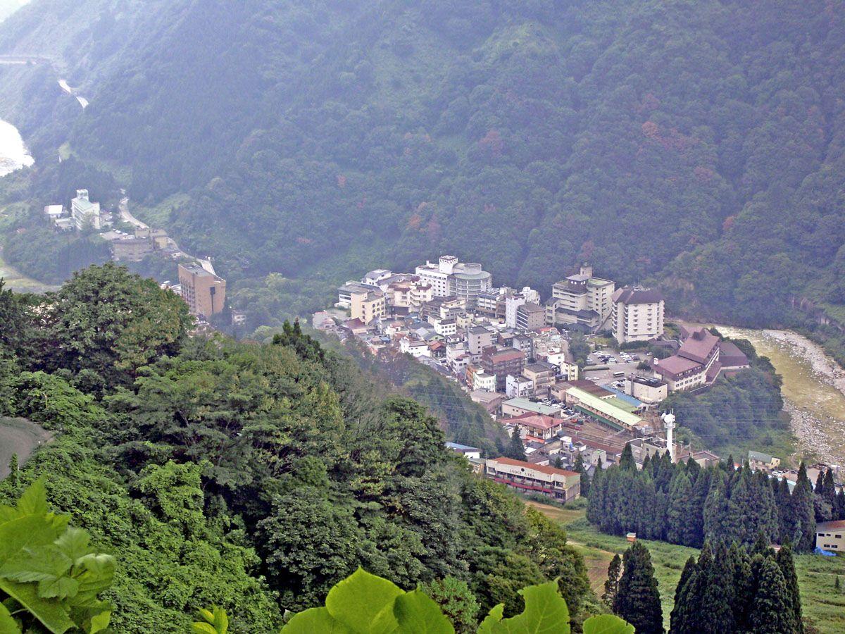 宇奈月溫泉 - Wikipedia