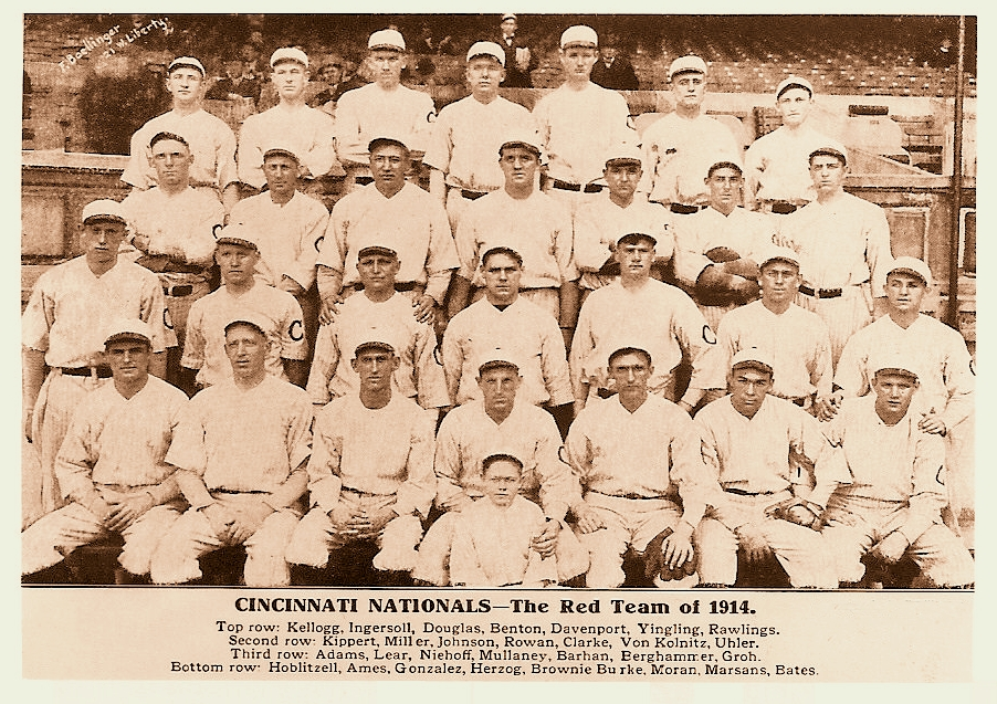 1914 Cincinnati Reds season  Wikipedia