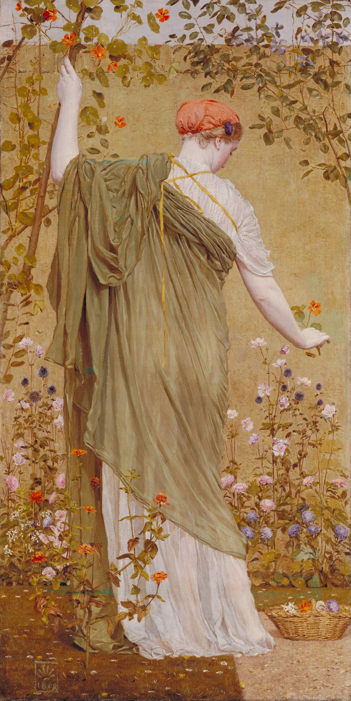 Albert Moore - A Garden - Google Art Project