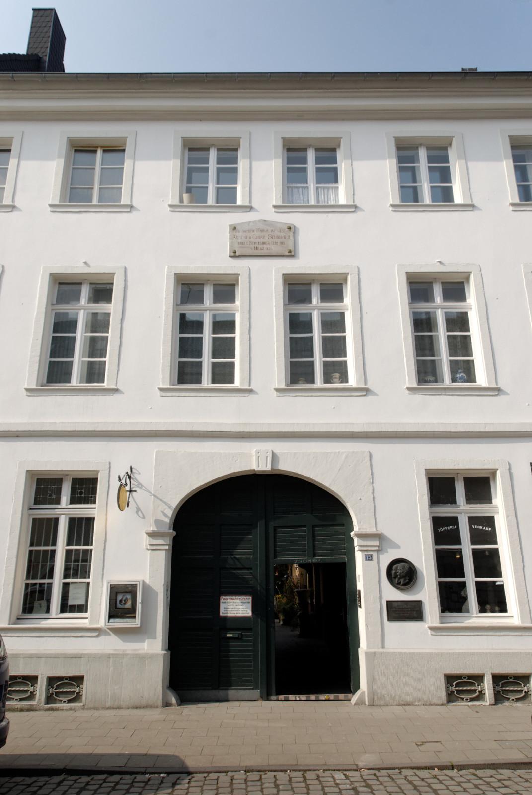 Schumannhaus Dsseldorf  Wikipedia