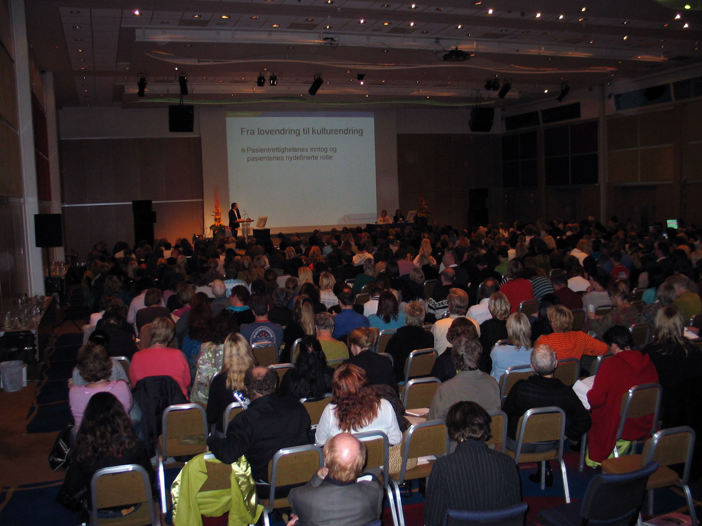 A conference in Oslo