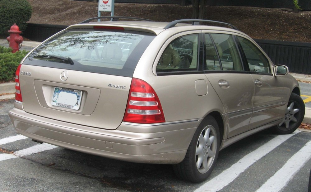 medium resolution of file mercedes benz c240 wagon jpg