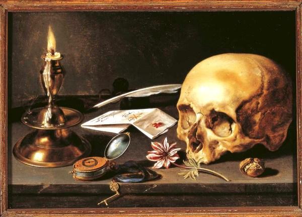 Pieter Claesz Vanitas Still Life