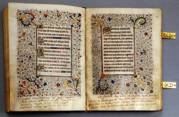 Mary's personal breviary, which she took with ...