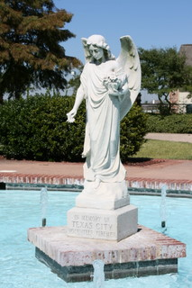 English: Firefighters Memorial in Texas City