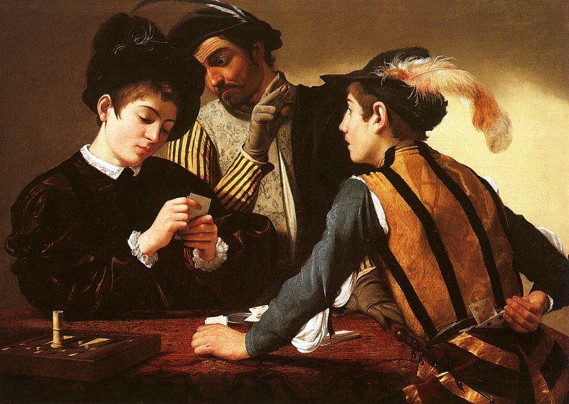 I Bari, Le Caravage (c. 1594)