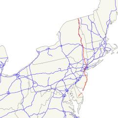 Nj Straight Line Diagram 1998 Dodge Durango Headlight Wiring U S Route 9 Wikipedia