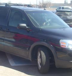 2006 2009 pontiac montana sv6 short wheelbase [ 1925 x 1089 Pixel ]