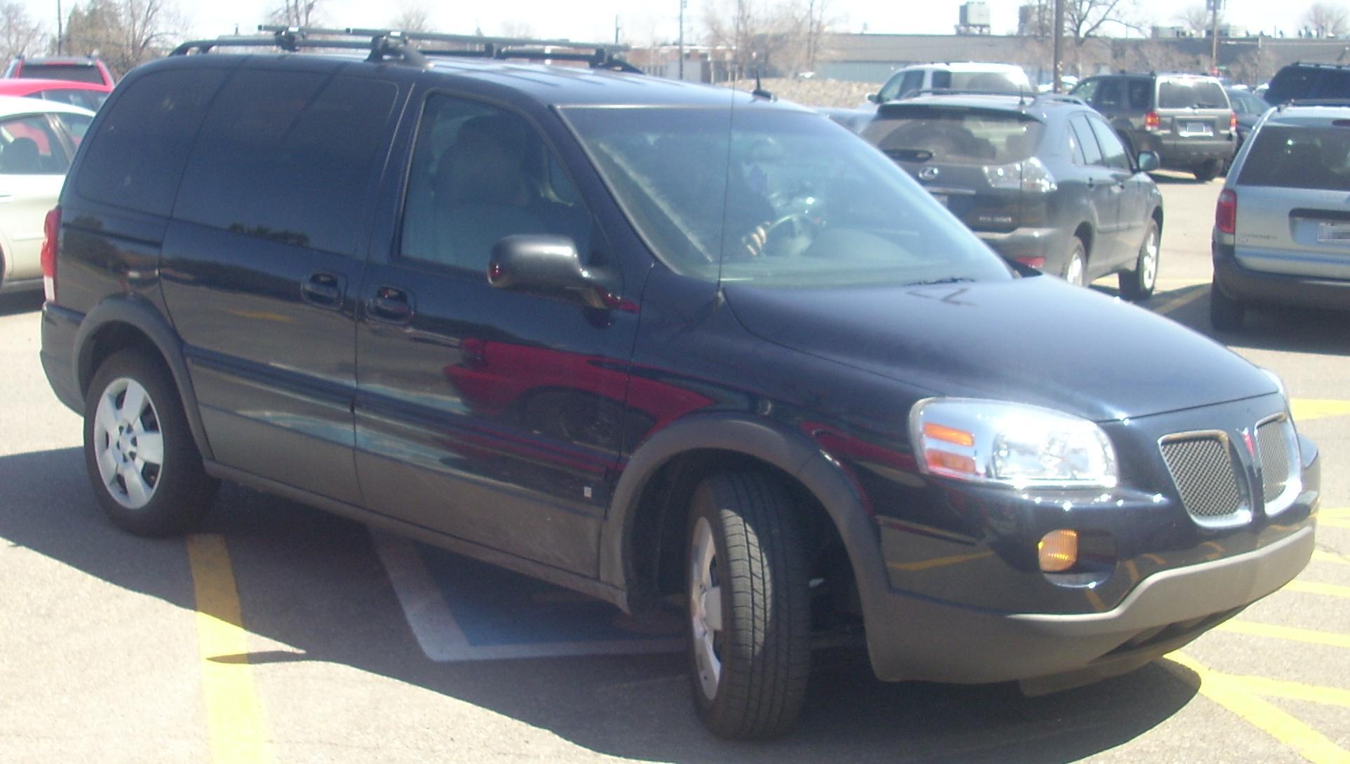 hight resolution of 2006 2009 pontiac montana sv6 short wheelbase
