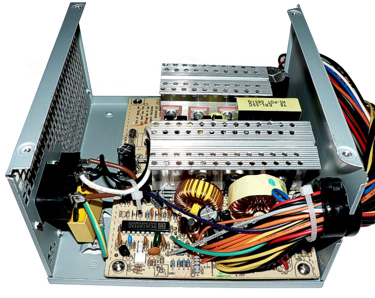 Pc Power Supply For Electronic Project