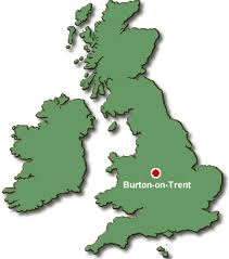English: Burton upon Trent in the UK