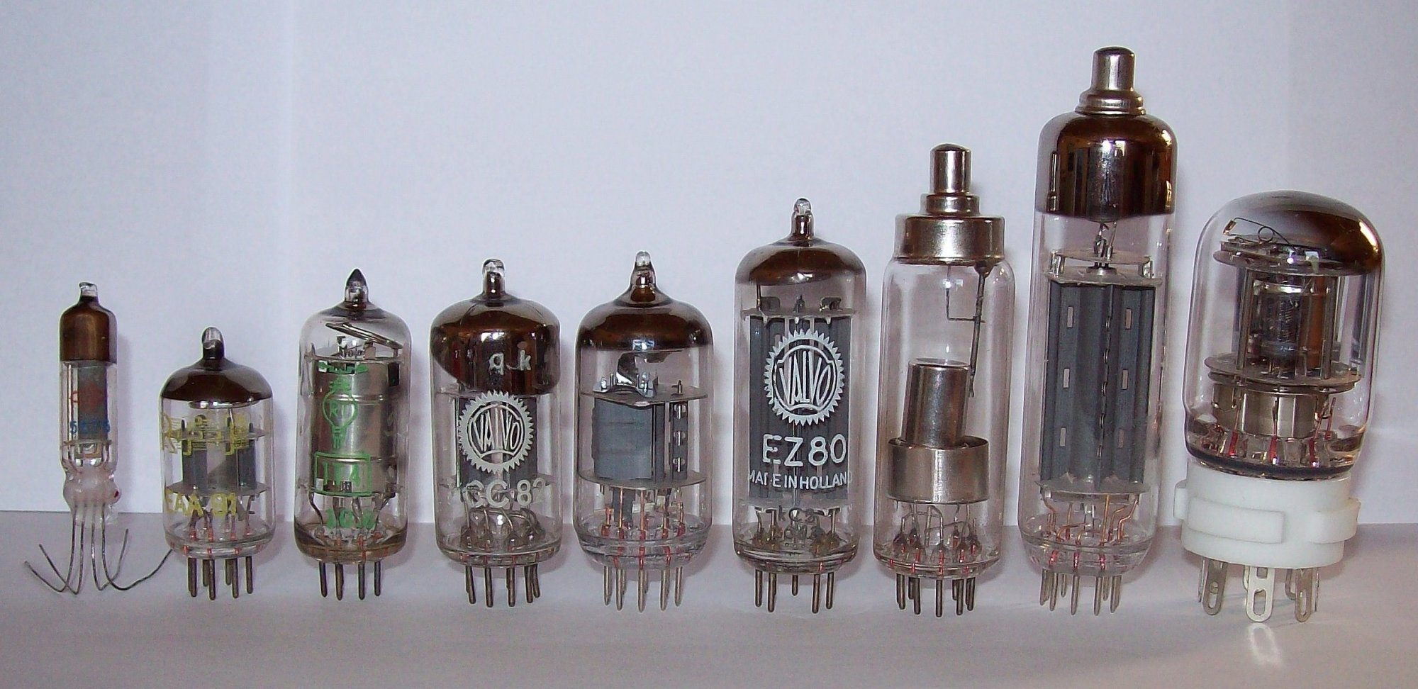 hight resolution of vacuum tube