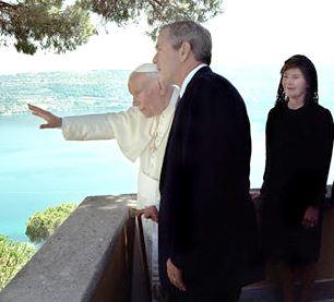 File:John Paul II George W. Bush July 2001.jpg