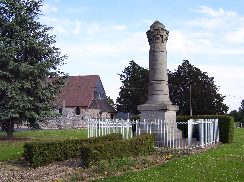 Denkmal der Familie Dudou in Boisney, eigenes Foto, Lizenz: public domain/gemeinfrei