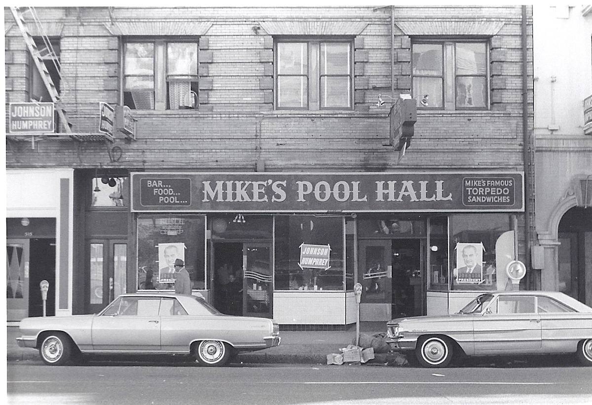 FileMikes Pool Hall San Francisco 1964jpg  Wikimedia