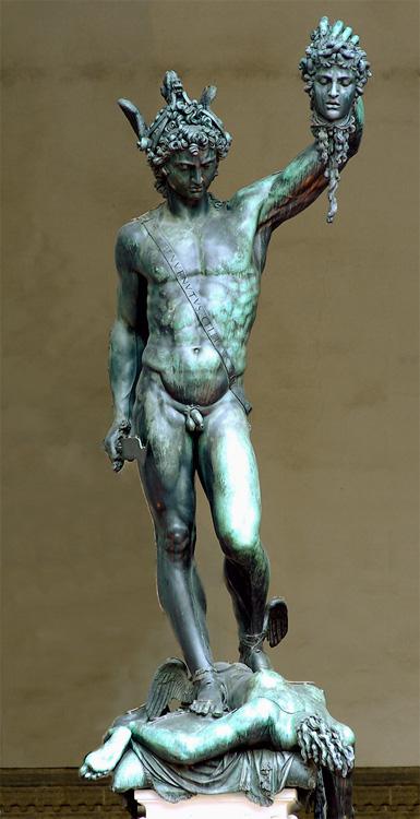 Benventuo Cellini, Perseus, Florenz