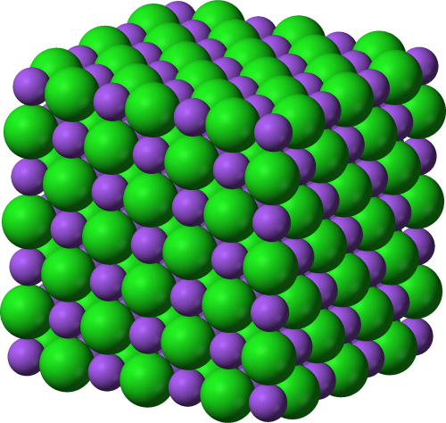 small resolution of ionic compound