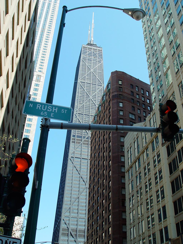 Rush Street Chicago Wikimedia Commons
