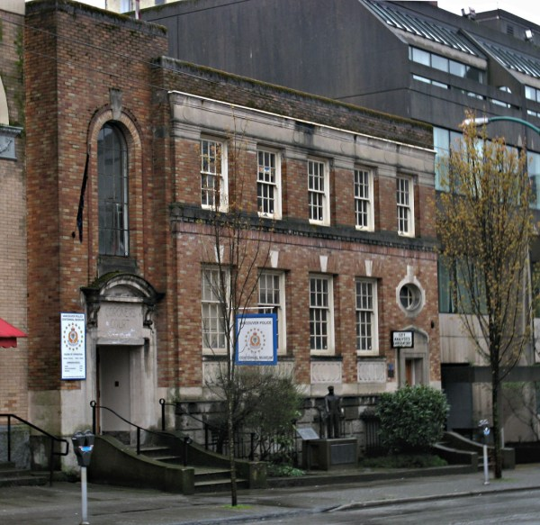 Vancouver Police Museum - Wikipedia