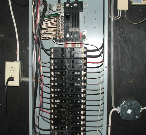 small resolution of as well ge circuit breaker panel box on wiring an outdoor sub panel