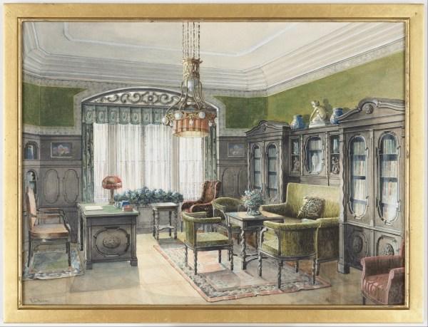 File Edward Lamson Henry - Library Interior Google Art