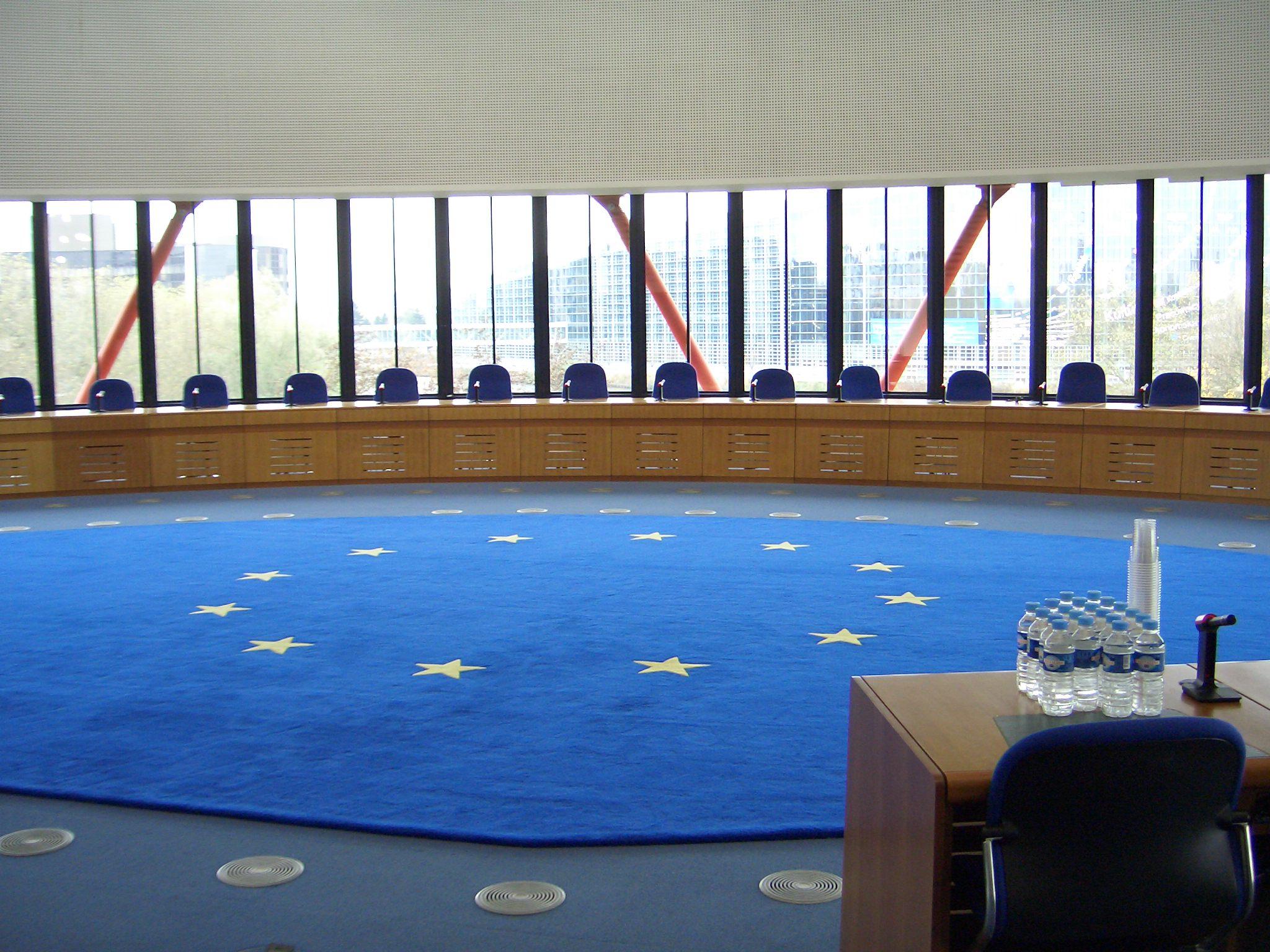 La stanza della Corte, da Wikimedia Commons