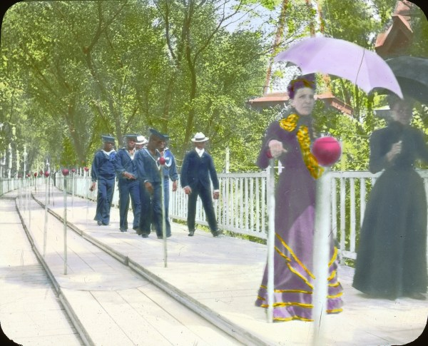 File Paris Exposition Moving Sidewalk France 1900