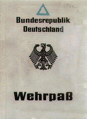 Deutsch: Wehrpass der Bundesrepublik Deutschland