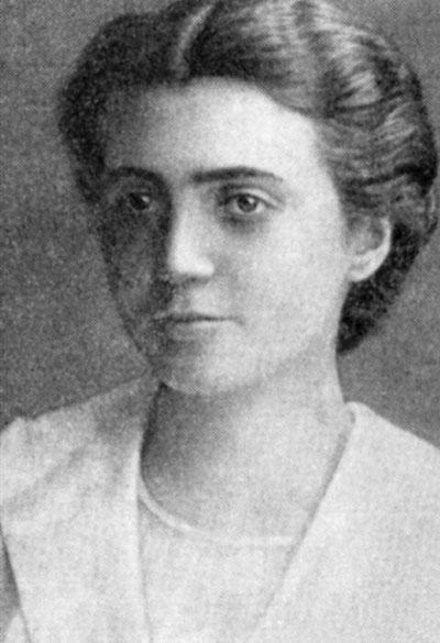 Łucja Frey w 1919 roku