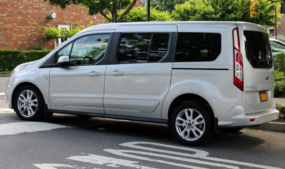medium resolution of file 2014 ford transit connect wagon titanium lwb left rear jpg