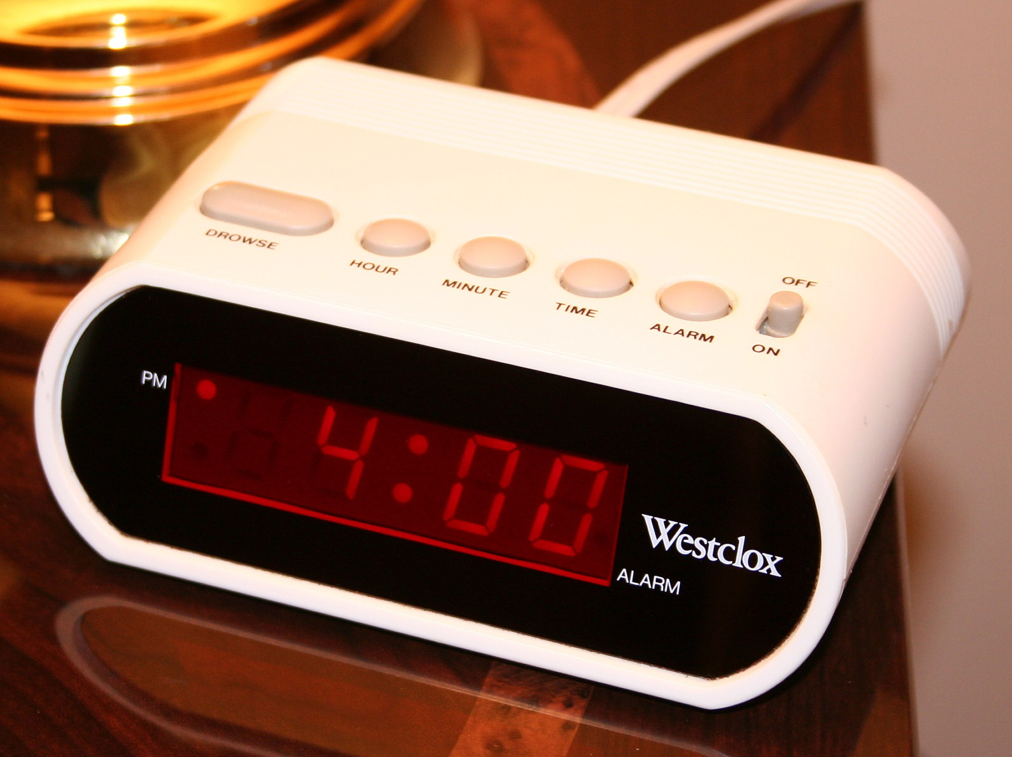 hight resolution of digital clock