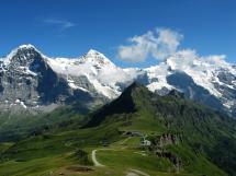 Eiger and Jungfrau Switzerland