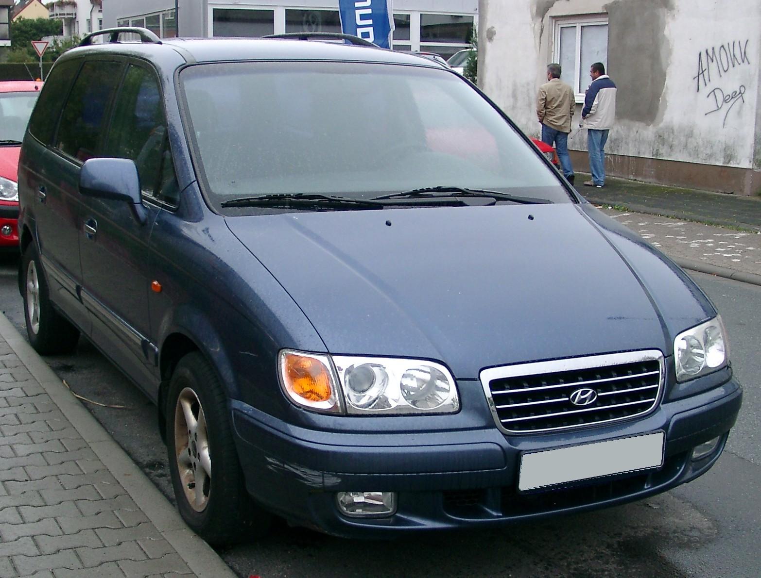 Hyundai Trajet  Wikipedia