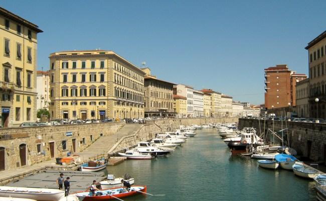 File Livorno Fosso Reale E Palazzi Ottocenteschi Jpg