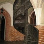 File Malbork Castle Spiral Staircase Jpg Wikimedia Commons