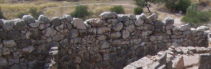 File:Mycenae walls interior.JPG