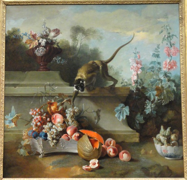 File Life With Monkey Fruits And Flowers 1724