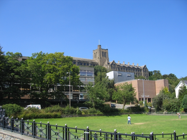 English: University College of North Wales, Ba...