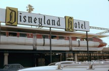 Disneyland Hotel Monorail Station