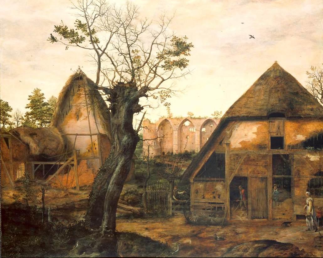 FileCornelis van Dalem  Landscape with Farmjpg  Wikipedia
