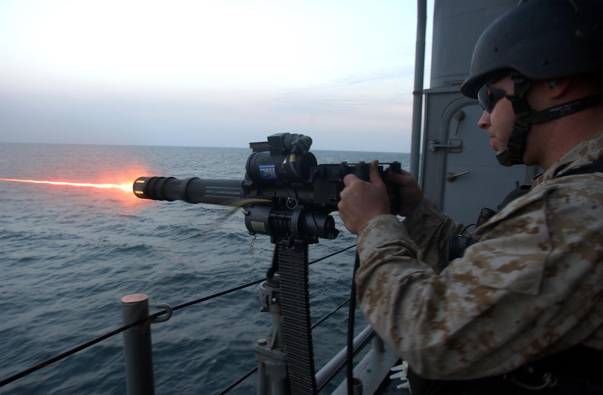 Gau 17 7 62mm Minigun
