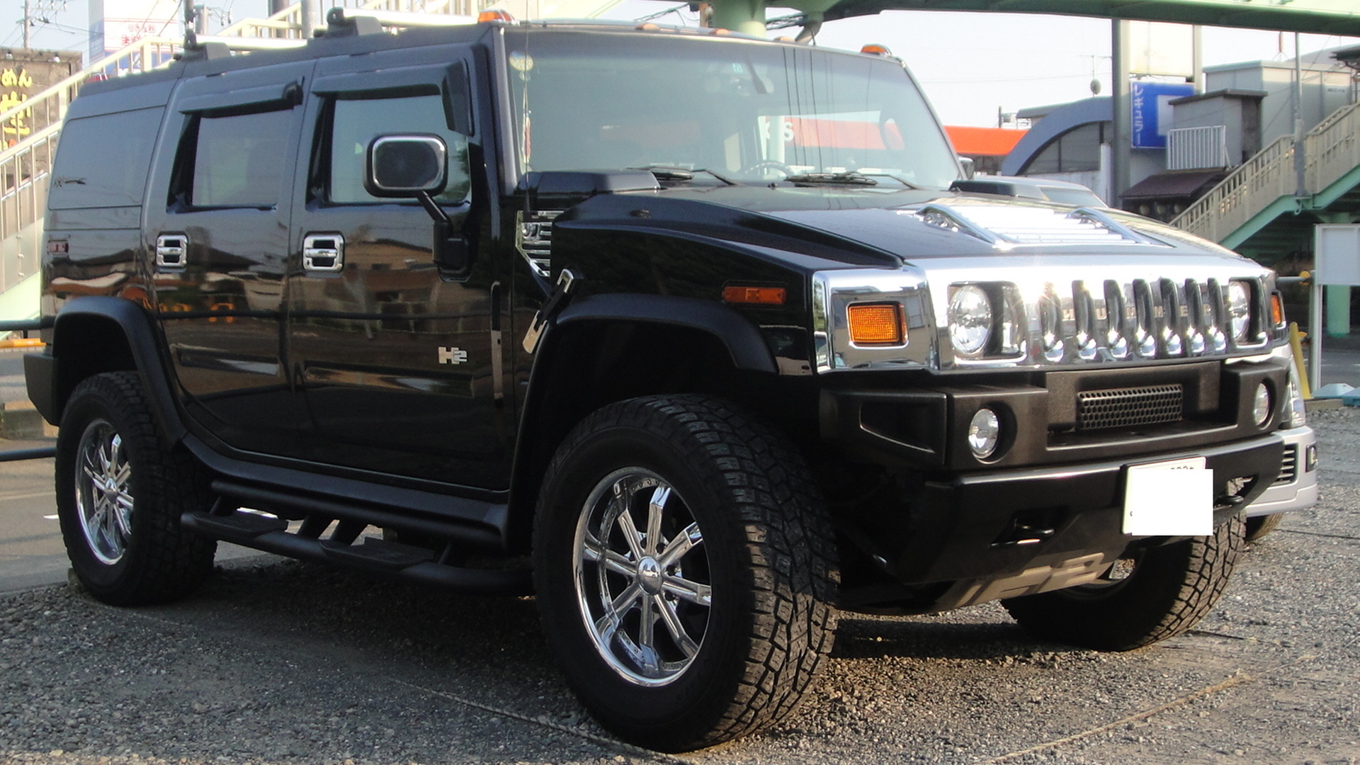File HUMMER H2 front 2 Tx re Wikimedia mons